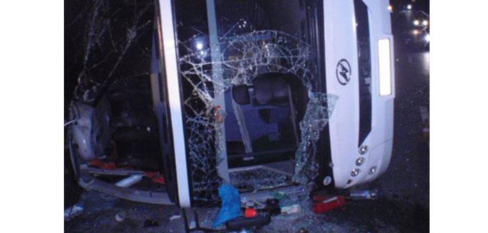 Moskova-Yerevan hattında otobüs kazası: 7 kişi öldü