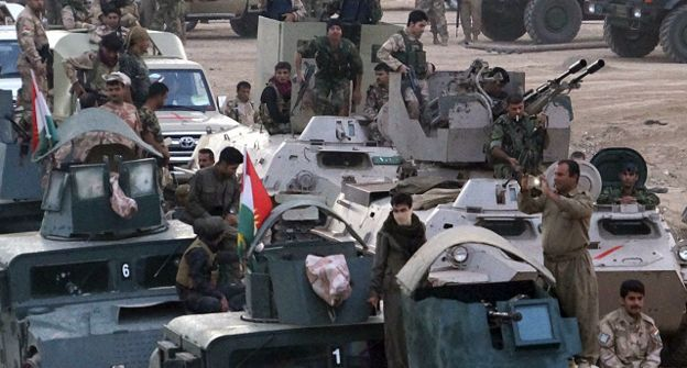 Peşmergeden Şengal'i IŞİD'den kurtarma operasyonu