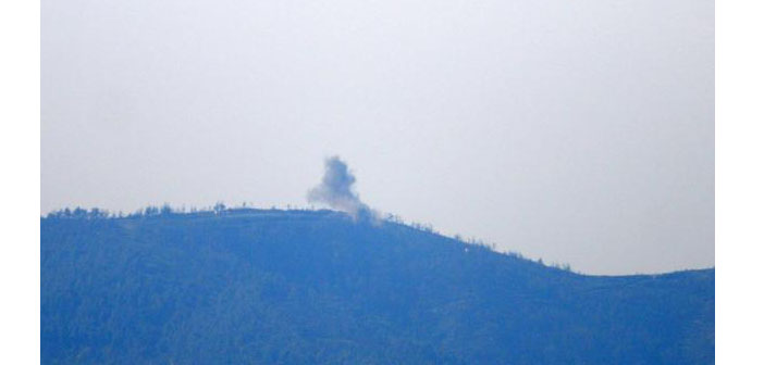 New airstrikes on Turkmen Mountain