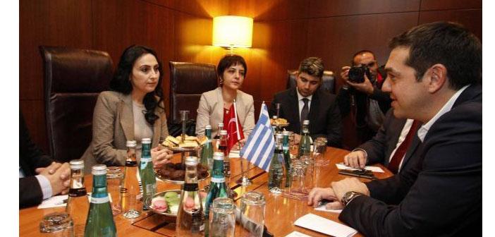 Çipras: HDP'nin mücadelesini hayranlıkla izliyoruz