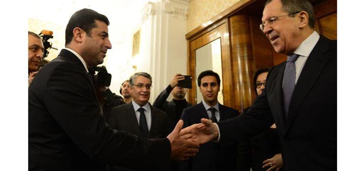 Demirtaş-Lavrov görüşmesinde diplomasi mesajı