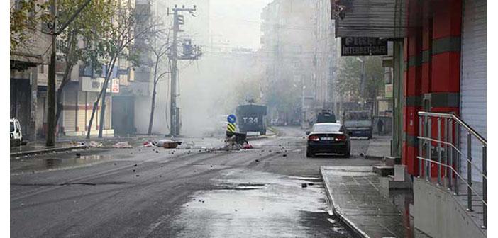 HDP ve DBP'nin Sur eylemine polis müdahalesi