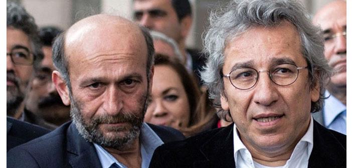Dündar ve Gül'ün tutukluluk itirazına ret