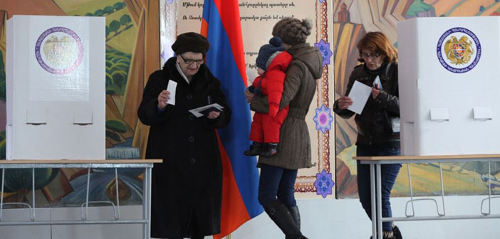 Debates after the referendum in Armenia