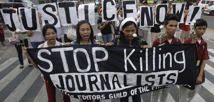 RSF: 2015'te 110 gazeteci öldürüldü