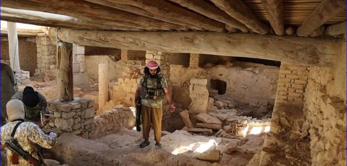 AINA: IŞİD Suriye'de 16 kiliseyi yok etti