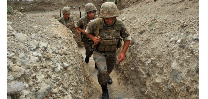"""Clashes in Karabakh is for having a strong hand"""