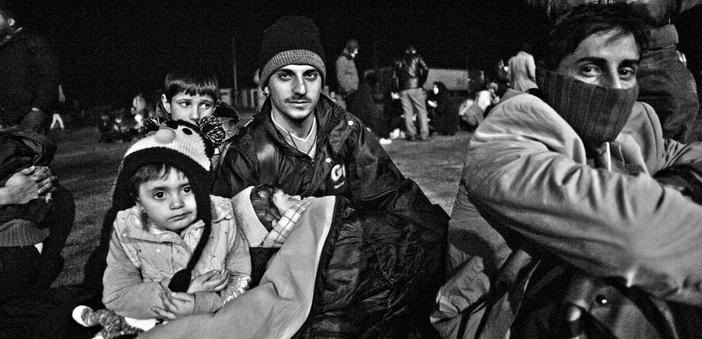 Midilli'deki mültecilerin  can ve umut pazarı