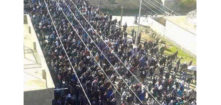Şırnak'ta sokağa çıkma yasağı protestosuna biber gazlı saldırı