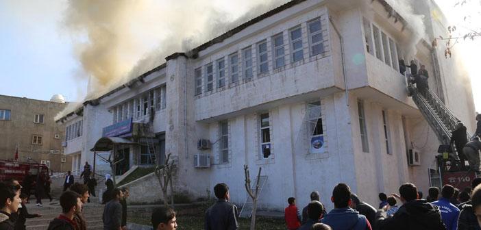 Şırnak'ta kütüphaneye bombalı saldırı: 6 yaralı