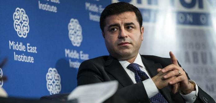 Demirtaş: Erdoğan ve AKP'nin başkanlık sistemi anayasal monarşidir
