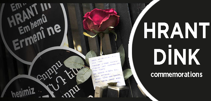 Hrant Dink memorial ceremonies on the 9th anniversary