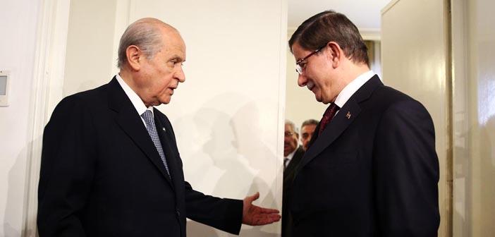 AKP-MHP görüşmesinde 'Başkanlık' polemiği