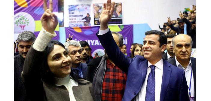 HDP'de Demirtaş ve Yüksekdağ'la yola devam