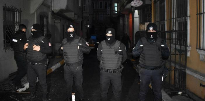 HDP Beyoğlu'na helikopterli baskın