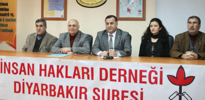 İHD Diyarbakır: 7 kentte 170 yurttaş yaşamın yitirdi