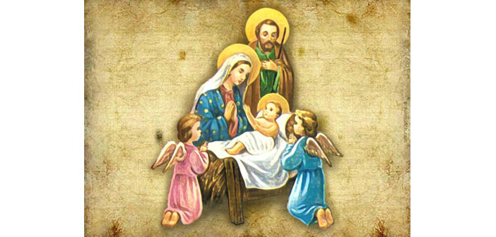 Noeli kutlanan İsa