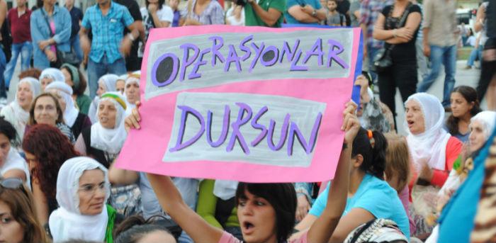 Kadınlar 6 Şubat'ta Diyarbakır'da
