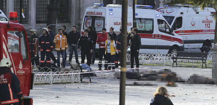 Sultanahmet patlaması: Canlı bomba IŞİD'li