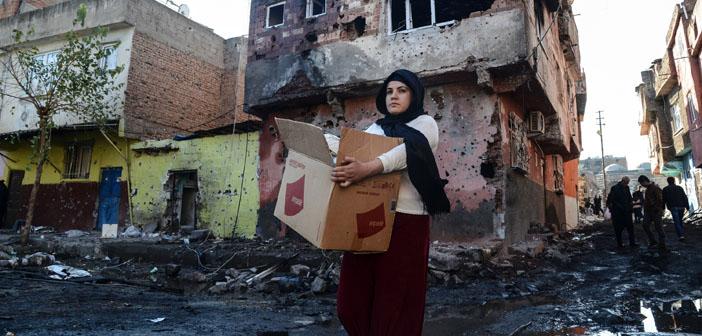Sur'da 5 mahallede daha sokağa çıkma yasağı
