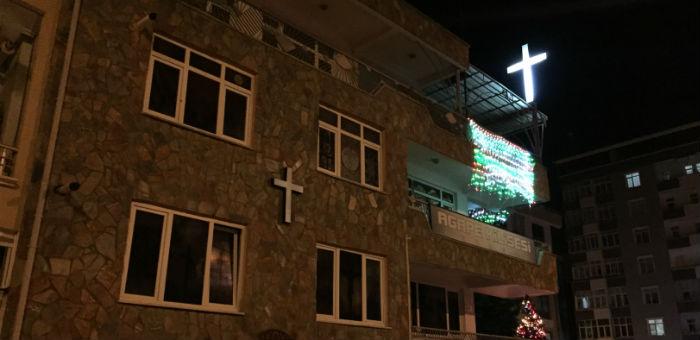 Samsun Agape Kilisesi'ne 10 günde iki saldırı