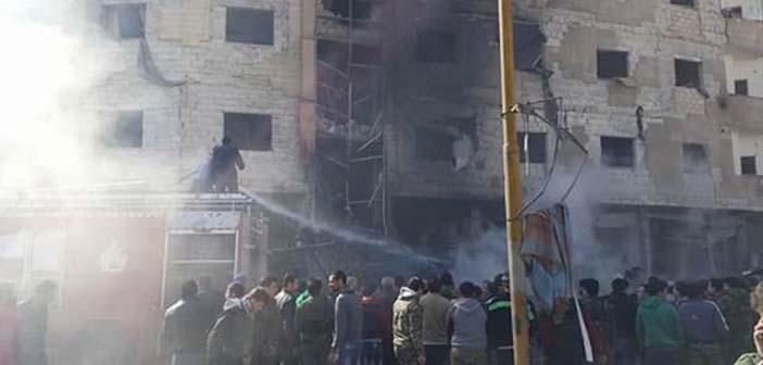 Şam'daki saldırıyı IŞİD üstlendi