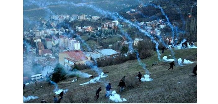 Cerattepe'de yine polis müdahalesi: 6 kişi gözaltında