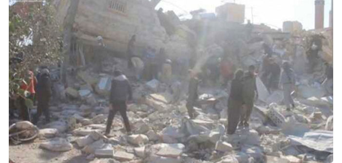 İdlib ve Azez'de 2 hastane vuruldu: En az 17 ölü