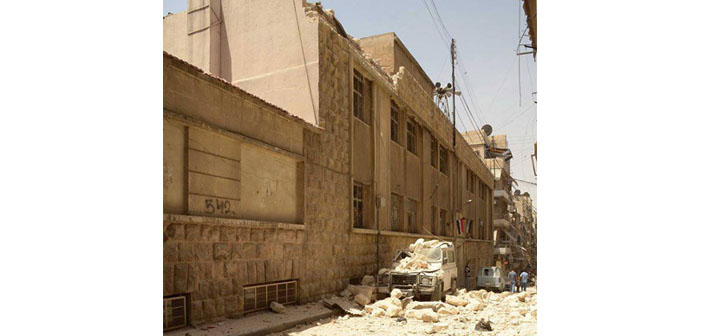 Nigol Bezjian: My school in Aleppo