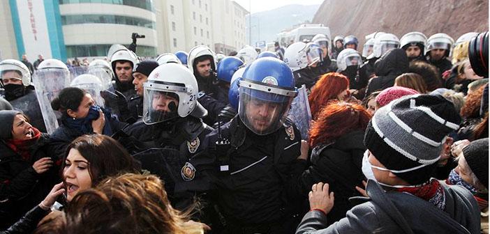 Cerattepe direnişinin 6. günü: Kadınlara polis saldırısı