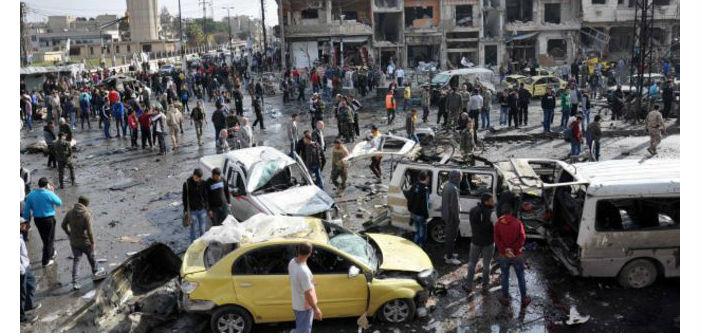 Şam ve Humus'ta IŞİD saldırılarında en az 140 kişi öldü