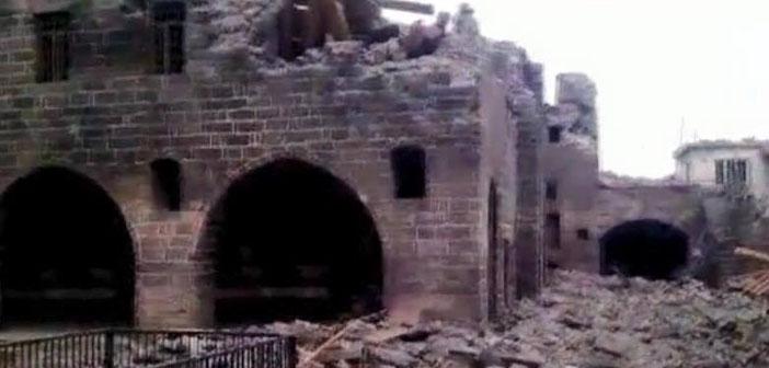 Sur'da kiliseler de ateş altında
