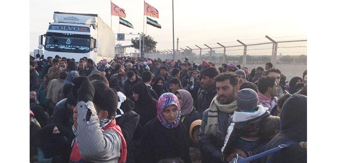 Halep kuşatması: Mülteciler sınır kapısında bekliyor