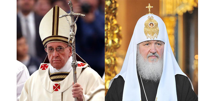 Doğu ve Batı Hristiyanlığı için tarihi buluşma