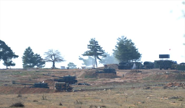 Turkey bombarded PYD
