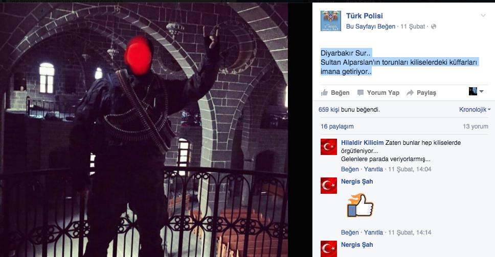 Sosyal medyada tepki çeken paylaşım