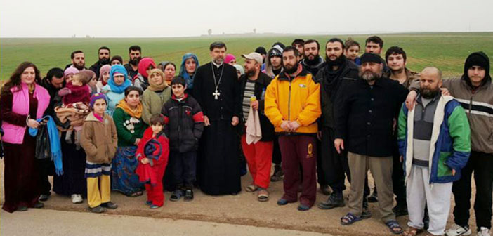 40 ասորի ազատվել է ԻՊ-ի գերությունից