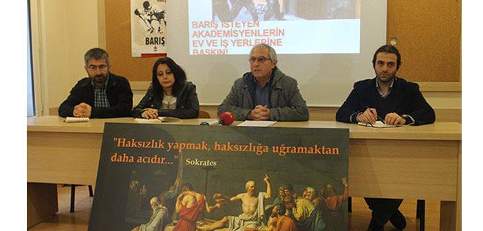 Akademisyenler için barış istemenin bedeli: 147 soruşturma, 26 gözaltı