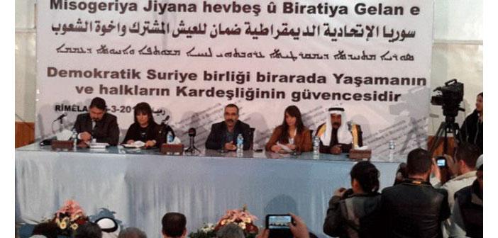 PYD: Federal yapılar kabul edilmezse bağımsızlık ilan edeceğiz