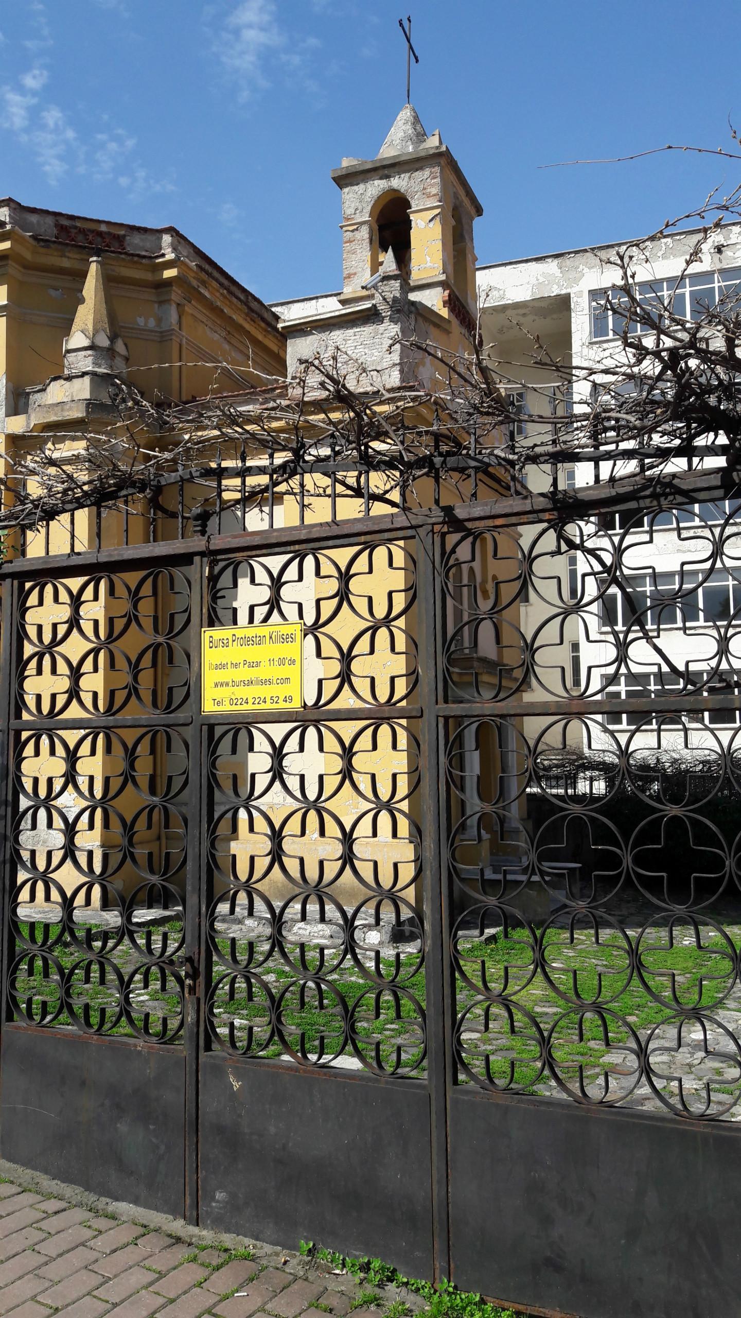 Bursa'daki Fransız Kilisesi
