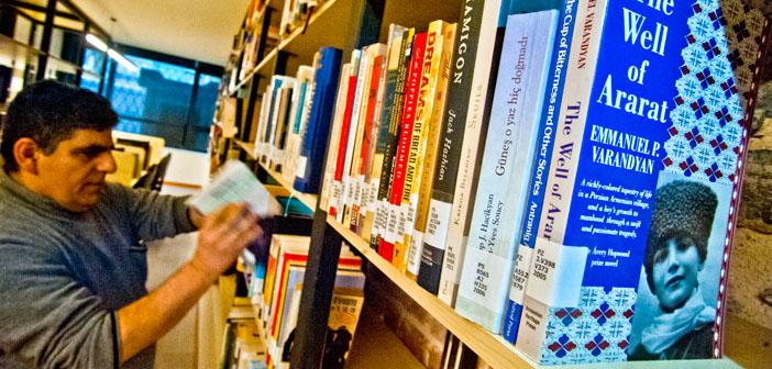 Hrant Dink Vakfı Kütüphanesi açıldı