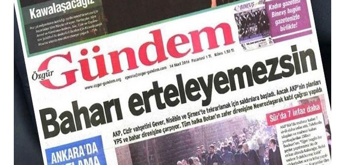 Özgür Gündem gazetecilerinin basın kartları iptal edildi
