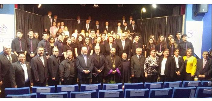 Sahakyan Lisesi 50. yılını kutluyor