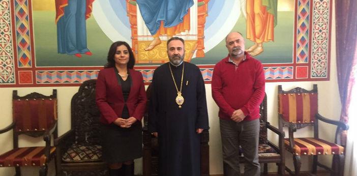 Selina Doğan, Romanya'da Ermeni cemaatini ziyaret etti