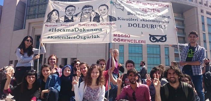Barış Akademisyenleri tahliye edildi