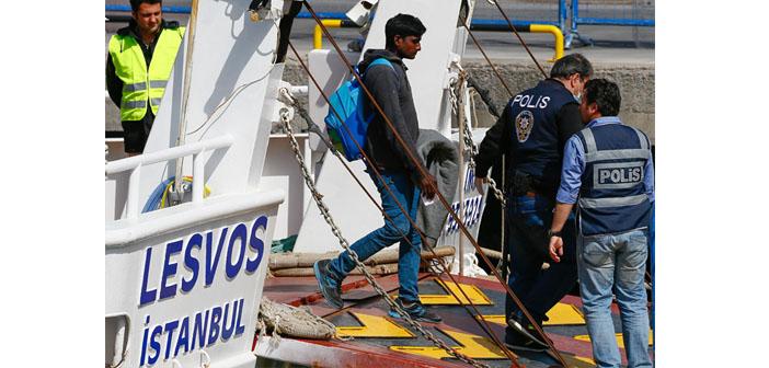 Geri gönderme, mültecileri daha tehlikeli rotalara itebilir
