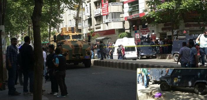 Diyarbakır'da askeri araç bir kadını öldürdü