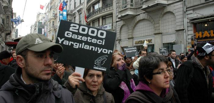 Türkiye bu yıl da 'basını özgür olmayan ülke'