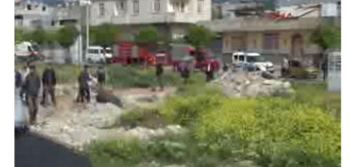 Kilis'e yine roketatar mermileri atıldı