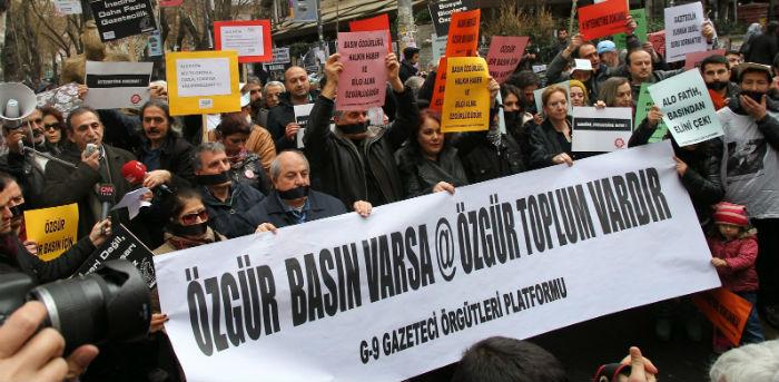 Bugün Türkiye'de de basın özgürlüğü günüymüş